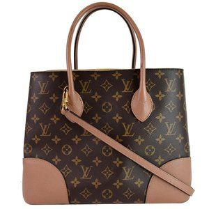 LOUIS VUITTON Flandrin Monogram Canvas Tote